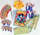 48 PC Mickey Mouse Favors Supplies Birthday Party Decorations with Favor Bags