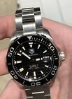 TAG HEUER AQUARACER 41mm WAY211A-0 with Box, Book, & Warranty Card NO RESERVE!!
