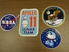 Vintage NASA Meatball Snoopy Lunar Team Decal and More