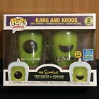 Kang And Kodos SDCC 2019 Funko Pop GITD shared EXCLUSIVE Simpsons Glow In Dark