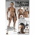 Hot Toys 1 6 True Type Male Body TTM15 African American OBAMA FREE shipping