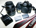 Canon EOS 5D 12.8MP Digital SLR Camera + C 75-300 Lens, & Compct & batteries