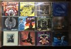 12 CD Prog Rock Metal Lot - King Crimson, Ayreon, Lana Lane, Majesty - RARE