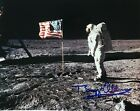 BUZZ ALDRIN Signed Photo Apollo 11 Lunar Surface with American Flag