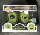 Funko Pop! The Simpsons Kang and Kodos GITD 2-Pack 2019 SDCC - Mint