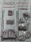 Sitting Here Porch Swing Stamp Set NEW 12 stamps