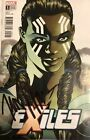 Exiles Valkyrie TESSA THOMPSON SIGNED Comic Book
