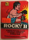 1979 Topps Rocky II Trading Cards 18