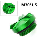 For Kawasaki Z750/S z750 2004-2010 Engine Oil Filler Cap Plug Green Aluminum NEW