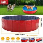 63 48 Large Dog Puppy Pool Pet Bath Swimming Pool Foldable Paddling Bathing US