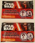 Star Wars Galactic Connexions Collectible Trading Discs Exclusive pack Topps New