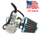 Carb 50cc 70cc 90cc 110cc 125cc Engine ATV Pit Dirt Bike Carburetor Filter USCC