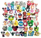 Disney Assorted Pin Trading Lot Pick Size From 10 100 Brand NEW No Doubles