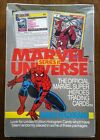 1991 Marvel Universe Series II 2 Trading Cards by Impel. Factory Sealed Box