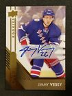 2016-17 UD OVERTIME PACKS JIMMY VESEY ROOKIE AUTO AUTOGRAPH