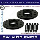 2PC 10mm Mercedes Benz 5x112 REAR Hub Centric Wheel Spacer Kit W Ball Seat Bolts
