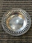 Very Cute TOWLE STERLING SILVER PIERCED CANDY DISH NUT BOWL 9612E