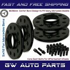 4 10mm Mercedes Benz 5x112 Hub Centric Wheel Spacers Kit W Cone Seat Bolts