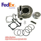 61MM Big Bore High Performance Cylinder Kit For GY6 125cc 150cc 180CC Scooter US
