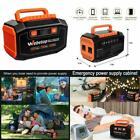 Generator Inverter Battery Panel Wall Car AC Outlet USB Ports 3 DC 12V Emergency