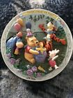 Winnie The Pooh And Friends 3D Plate Three Cheers For Pooh Birthday 1996