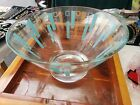 Vintage Mid Century Modern Chip Bowl Punch Salad Dish 10.5