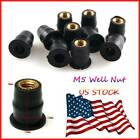 Motorbike Metric Rubber Well Nuts Windscreen Fairing For Suzuki SV1000 TL1000R