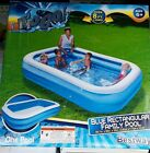 H2O GO Family Swimming Pool Blue Rectangular 87 LONG Inflatable Best Way