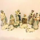 Vintage House of Lloyd Christmas Nativity 11 Pieces