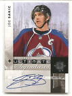2011-12 Upper Deck Ultimate Collection Hockey Autograph Short Prints Guide 13