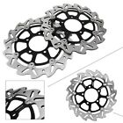 Front Brake Rotors for Kawasaki Ninja ZX10R 2004-2007 &Kawasaki Z1000 07-13 pair