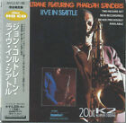 JOHN COLTRANE, PHAROAH SANDERS Live In Seattle JAPAN CD MVCZ-87~88 1995 OBI