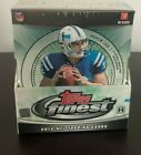 2012 Topps FINEST Football Hobby Box - 12 packs - 2 auto box - Factory Sealed