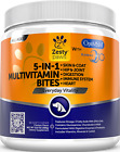 Zesty Paws Multivitamin Treats for Dogs Glucosamine Chondroitin for Joint +