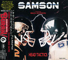 SAMSON , BRUCE DICKINSON Head Tactics JAPAN CD TOCP-7976 1993