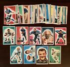1955 Bowman Football Partial 43% Complete Set Lot (69 160), G-VG Overall, 9 HOF