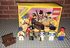 Lego 6251 Pirate Mini Figures (Sea Mates) Complete Set Vintage Box Minifigures