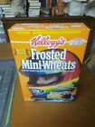 Kellogg's frosted mini wheat cereal box Jeff Gordon 1998 new unopened