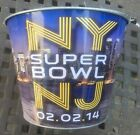 SUPER BOWL 48 XLVIII ALUMINUM ICE BEER BUCKET OFFICIALLY LICENSED NFL PRODUCT