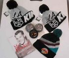NHL LA KINGS ANAHEIM DUCKS HOCKEY CUFF POM POM BEANIE HATS PUCK GORDIE HOWE BOOK