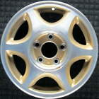 Oldsmobile Cutlass Supreme Machined w Gold Pockets 15 inch OEM Wheel 1997 199