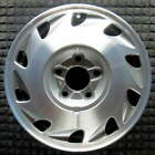 Oldsmobile Ninety Eight Machined w Silver Pockets 15 inch OEM Wheel 1992 1235