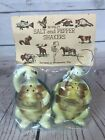 NEW Vintage Enesco Swifty the Turtle Salt and Pepper Shakers Souvenir G188