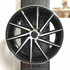 19 SWIRL STYLE BLACK MACHINE WHEELS RIMS LEXUS GS GS300 GS350 GS400 GS430 AWD