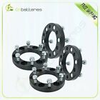 4X 6x55 1 black wheel spacers 12x15 studs for Chevrolet for Toyota Tacoma