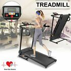 2019 Folding Treadmill Motorised Running Machine Electric Power Fitness Exercise