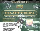 1999 Upper Deck Ovation Football Sealed Hobby Box