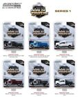 Greenlight 1 64 Dually Drivers Series 1 Complete Set of 6 Diecast Trucks 46010