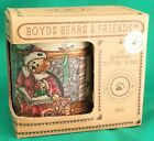 Boyds Bears & Friends Bearware Pottery Works Night Before Christmas Mug/Cup ~NEW