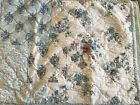 SIMPLY SHABBY CHIC PATCHWORK SHAM BLUE COTTAGE COUNTRY CHIC